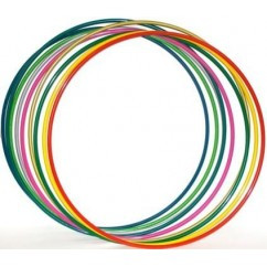 Обруч гимнастический пластик d-75 см. FI-3375-75