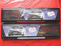 Рамка для номеров под стеклом GUARD Рамки для номерных знаков