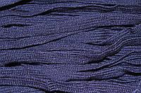 Тесьма акрил 10мм (100м) т.синий , фото 1