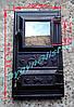 Дверка чугунная со стеклом №6 (270х490мм)