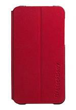 Чохол BlackBerry Z10 пластиковий фліп. Червоний