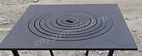 Плита чугунная под казан 550х550 мм большая