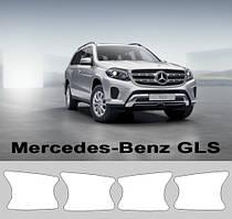 Комплект для защиты зон под ручками на Mercedes-Benz GLS