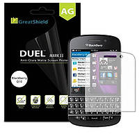 Пленка на экран Blackberry Q10. Матовая