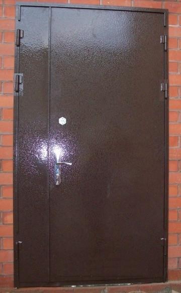 Двері вхідні МЕТАЛЕВІ ширина 1,20 див. висота 2,05 БЕЗКОШТОВНА ДОСТАВКА