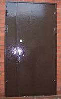 ДВЕРИ ВХОДНЫЕ МЕТАЛЛИЧЕСКИЕ ширина 1,20 см. висота 2,05 БЕСПЛАТНАЯ ДОСТАВКА, фото 1