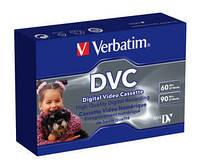 MiniDV кассета Verbatim MINI DVC Single PK 60min