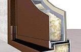 Двері вхідні МЕТАЛЕВІ ширина 1,20 див. висота 2,05 БЕЗКОШТОВНА ДОСТАВКА, фото 3