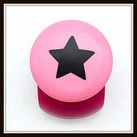Дырокол фигурный Звезда кнопка 2,5 см