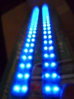 Подсветка гибкая CSL-3992-25 B 27LEDх25см синяя
