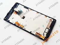 Дисплей Sony C2104 C2105 S36h Xperia L тач и рамка