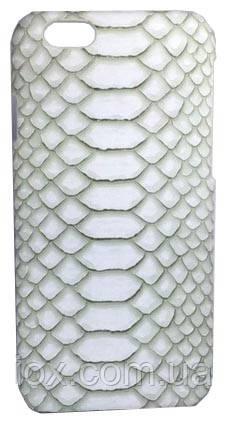 Белый чехол Кожа змеи для Iphone 6 \ 6s