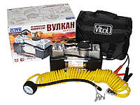 Автомобильный компрессор Вулкан 12121 150psi/18A/60 автомобильный насос для подкачки шин от прикуривателя