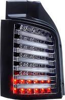 Фары оптика задние Volkswagen T5 хром LED пара LUX