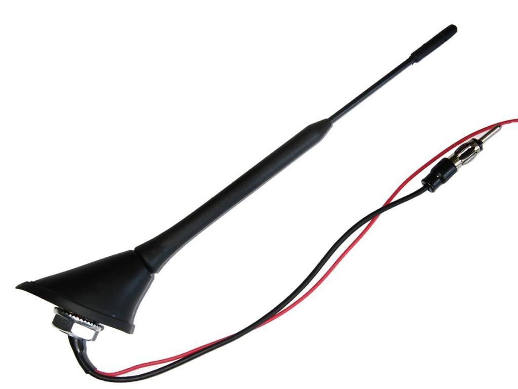 Автомобильная антенна врезная в крышу Н-61129 с усилит/наклон 58° автомобильная антенна