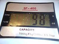 Электронные Сверх точные весы SF 400+батарейки