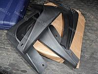 Брызговики Mitsubishi Outlander 2 XL (с порогами) (2006-2012) (задние 2шт.) L-Locker заводской
