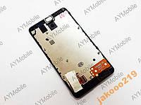 Дисплей Nokia X з сенсорним склом і рамкою
