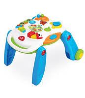 Музыкальный игровой столик Weina 2-в-1, развивающий столик