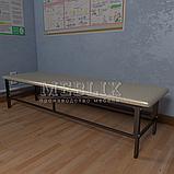 Медичні кушетки без підголівника. Банкетки для коридорів і холів., фото 4