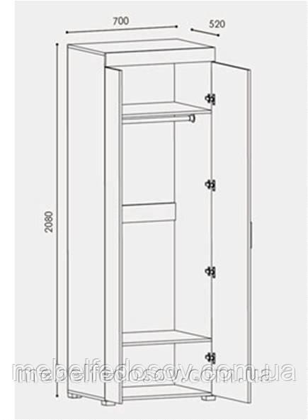 шкаф британия, модульная система британия