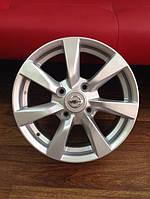 Диски Nissan Almera classic R15 (4/114) до 2012 года  Оригинальные параметры