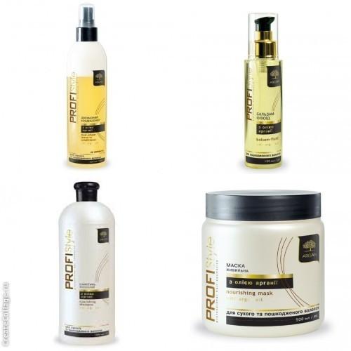 Питательный для сухих и поврежденных волос с маслом Аргана