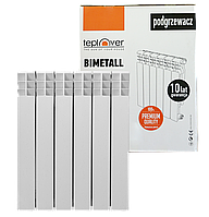 Биметаллический радиатор 500/80 TEPLOVER 6 секций