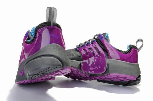 Кроссовки Nike Air Pesto серо-малиновые оригинал