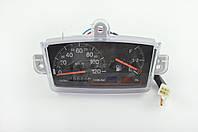 Панель приборов (в сборе) на скутер  Suzuki ADDRESS   (120км/ч, черная, датчик уровня топлива)   (mod:MY-122)
