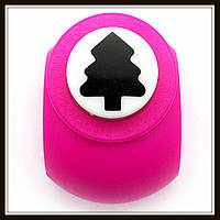 Дырокол фигурный Елка кнопка 1,8 см