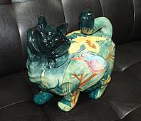 Фарфоровая статуэтка Кошка (Pavone) JP-11/30