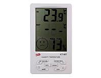 Термометр-гигрометр TS KT 907 (изм. температуру и влажность, часы)    .  dr