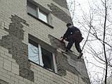 Обследование фасада, простукивание  плитки, сбить плитку, фото 2