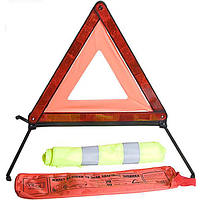 Набор знак авар. ЗА 617 (ЗА007+жилет безоп. ЖБ003)