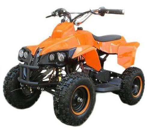 Детский Квадроцикл Profi HB EATV 500W оранжевый