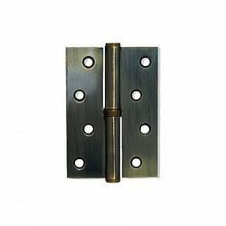 Петли для дверей Apecs 100*75-B-Steel-AB-R