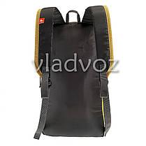 Городской, спортивный рюкзак Arpenaz 10L желтый с оранжевым, фото 3