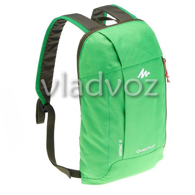 Городской, спортивный рюкзак Arpenaz 10L зелёный