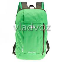 Городской, спортивный рюкзак Arpenaz 10L зелёный, фото 2