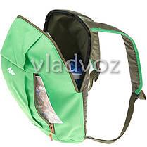 Городской, спортивный рюкзак Arpenaz 10L зелёный, фото 3