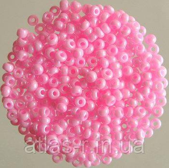 Бисер Preciosa Чехия №16173 1г, светло-розовый непрозрачный