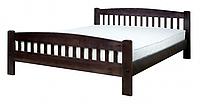 """Кровать """"Ретро-1"""" из массива ольхи (Темп)"""