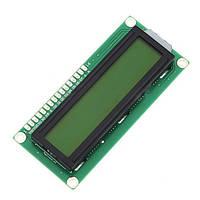 LCD 1602 дисплей зеленый