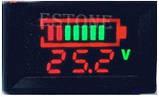 Индикатор уровня заряда аккумулятора универсальный, до 120 В, фото 3