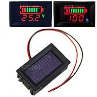 Индикатор уровня заряда аккумулятора универсальный, до 120 В, фото 1