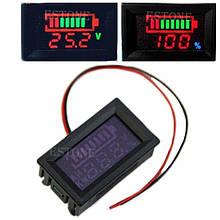 Индикатор уровня заряда аккумулятора универсальный, до 120 В