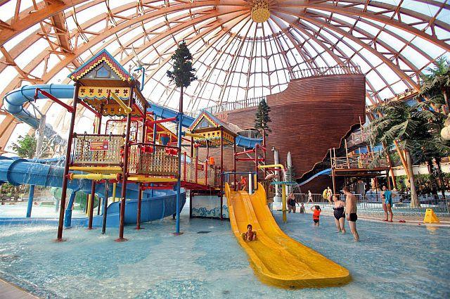 Проект строительства аквапарка в Харькове