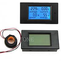 Измеритель параметров тока, ваттметр, AC 220В,100А