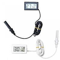 Цифровой гигрометр-термометр с выносным датчиком, фото 1